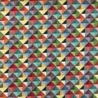 Tapestry Fabric  - Curtains Upholstery Cotton Mix - Little Holland